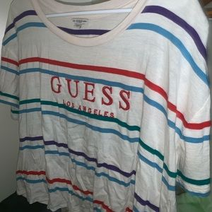 Guess Striped Crop top